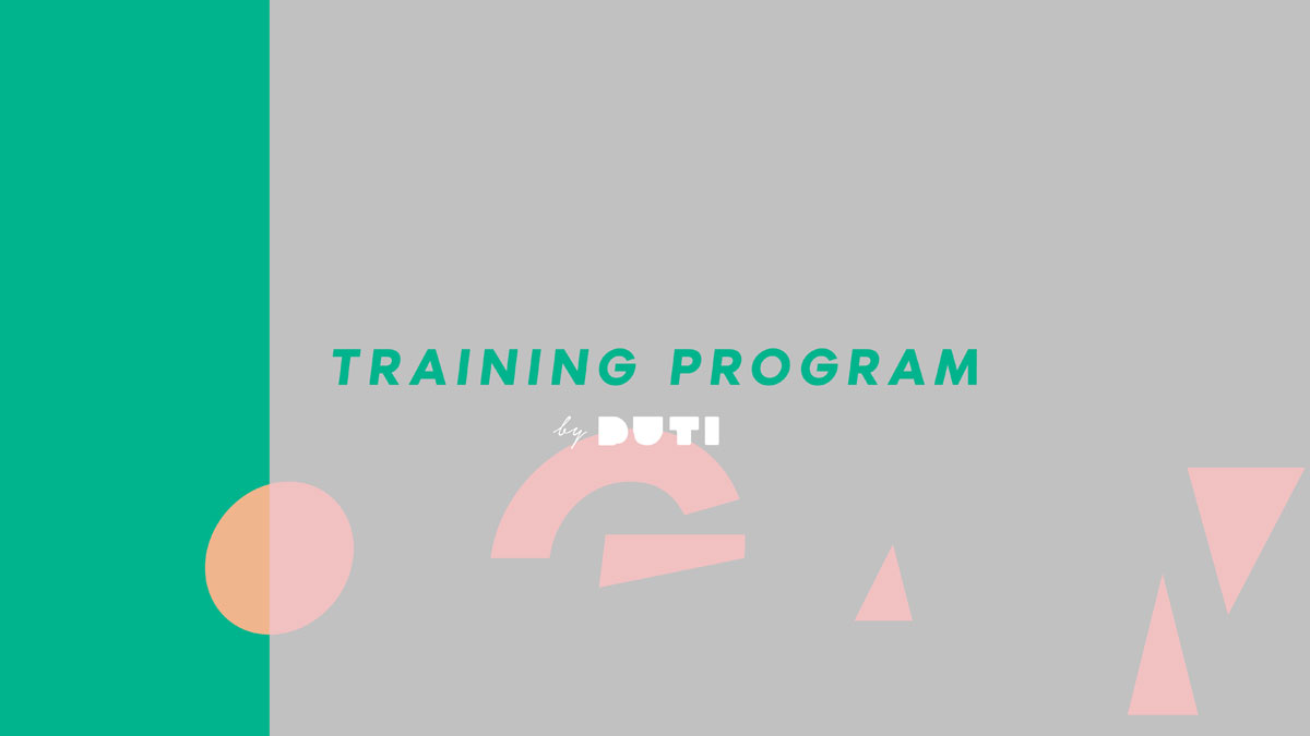 DUTI Training Program 2019